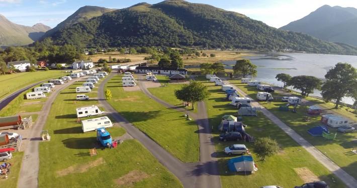 Camping Facilities Glencoe